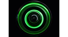 Led Wheel Light (4) Green
