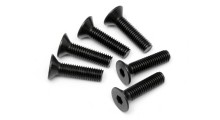 HPI FLAT HEAD SCREW M5x20mm (HEX SOCKET/6pcs)