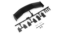 HPI GT WING SET (TYPE D / 10TH SCALE / BLACK)