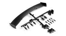 HPI GT WING SET (TYPE C / 10TH SCALE / BLACK)
