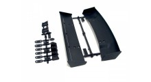 MOLDED WING SET (TYPE A & B / 10TH SCALE / BLACK)