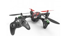 Hubsan Mini Quadrocopter med /Kamera & LED-lys, 2,4GHz