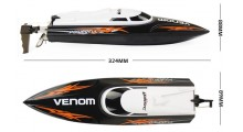 UDI Venom RC Speed Boat - Black 2.4GHz RTF