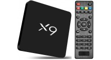 X9 S905X Smart Multimedia Player - TV Box, Android, 4K FULL-HD, WiFi, Fjernkontroll