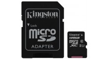 Kingston 4 i 1 128GB Mikro-SD, SD-Adapter, USB Adapter og Minnekortleser Class 10