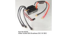 JW92035 Water cooled 90A Brushless ESC W/BEC